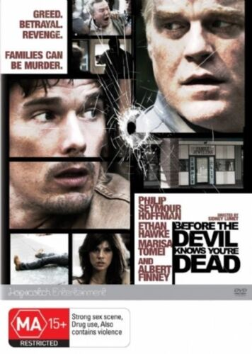 1 of 1 - Before The Devil Knows You're Dead (DVD, 2008) Drama Ethan Hawke VGC R4