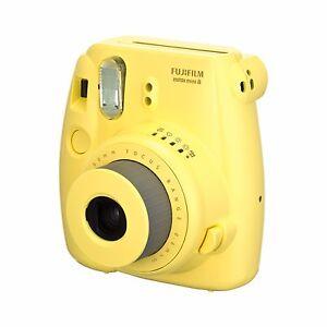 Fotocamera-Istantanea-FujiFilm-Fuji-Instax-Mini-8-Yellow-NUOVA-Garanzia-2-Anni