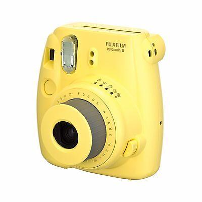 Fotocamera Istantanea FujiFilm Fuji Instax Mini 8 (Yellow) SG