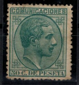 P135056-SPAIN-STAMP-EDIFIL-196-MINT-MH-CV-137