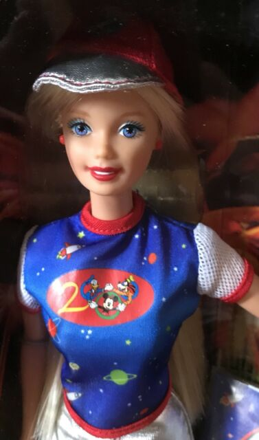 Walt Disney World Barbie Doll 2000 New Millennium NRFB Original Owner Collection
