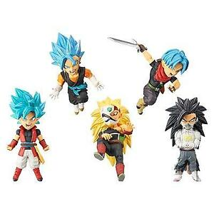 Super Dragon Ball Heroes World Collectable Figure WCF vol.3 set All 5 type set