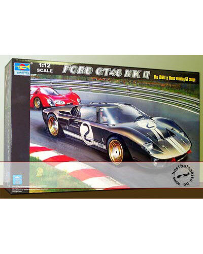 FORD GT40 LE MANS 1966 WINNER TRUMPETER McLAREN AMON MILES HULME for TAMIYA