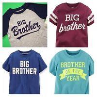 big Brother Baseball Boys Graphic Shirt 2t 3t 4t 5t 4 5 6 7 Kids Gift