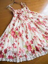 LIZ LISA Tropical Floral Powernet Jumper Dress JSK Hime Lolita Kawaii Japan
