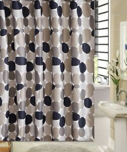 Image Is Loading Multicolor Geometric Pattern Design Bathroom Fabric Shower Curtain