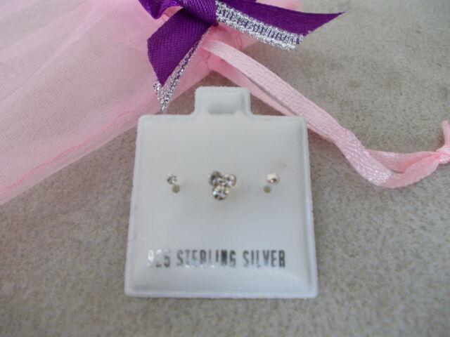3 x 925 Sterling Silver Nose Studs, Choose Design,22G,9MM Straight Bend Yrself