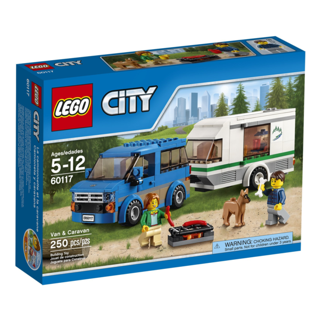 LEGO 60134 City Town Fun in the Park 15 Minifigs 157 Pcs Building Set people New