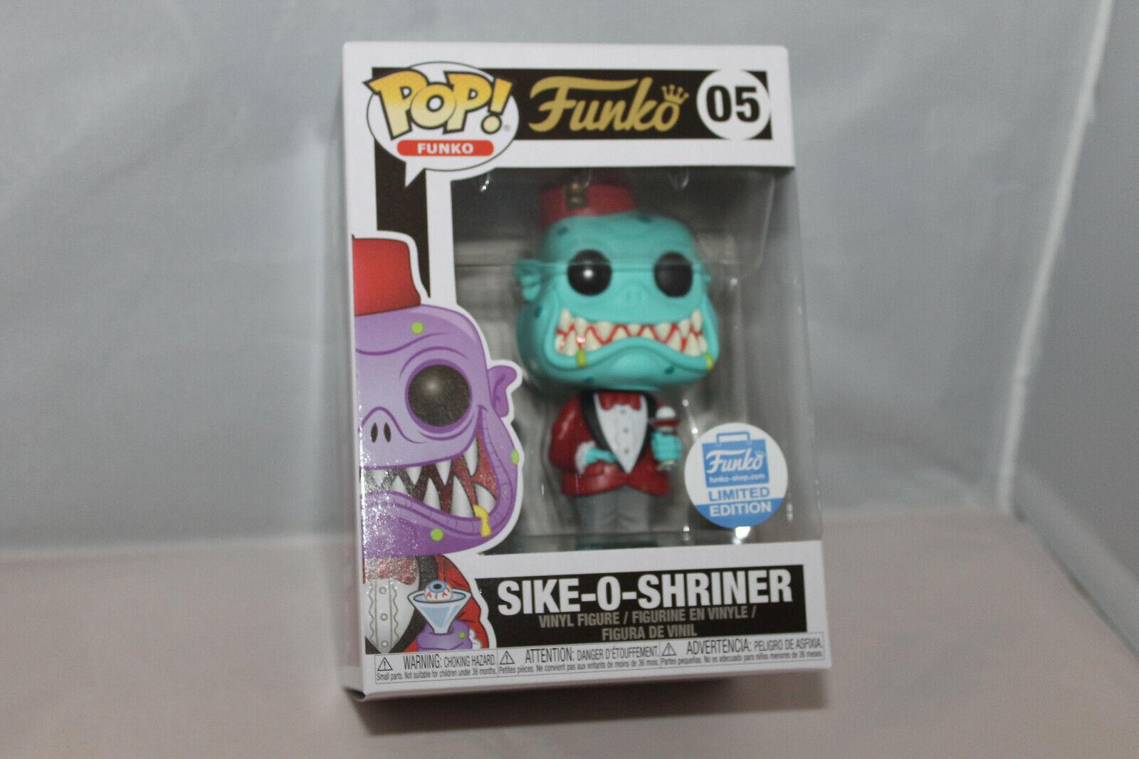 Funko Pop  Vinyl Figure - Funko Sike-O-Shriner [Teal] - Funko Shop Excl