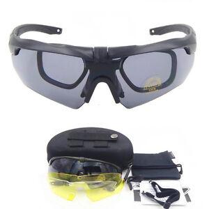 Polarized ESS CROSSBOW TR90 Military Goggles 3 5 Lens Ballistic ... 473f7a8aed