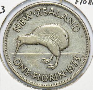 New Zealand 1933 Florin Kiwi Bird animal 192534 combine shipping