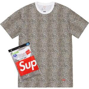 Supreme SS19 Hanes Tagless Tee (1 T-Shirt Only) Classic Box Logo