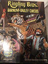 1995 125th Anniversary Ringling Bro Barnum /& Bailey Circus Program Brochure SALE