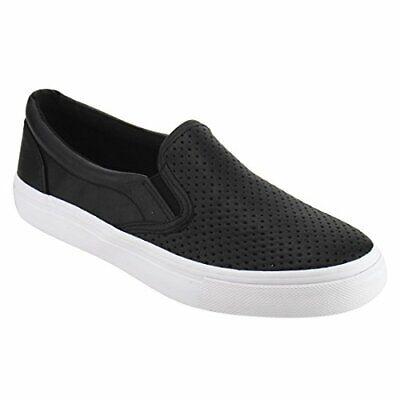 Soda Shoes Women's Tracer Slip On White