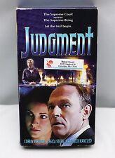 JUDGMENT (VHS, 2001) Video Movie MR. T Corbin Bernsen Jessica Steen FREE SHIP