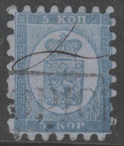 Finland-4-Kupio-High-Box-Cancel-Manuscript-Scarce-5-Kop-1860