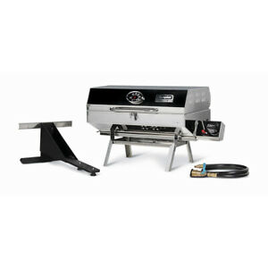 Camco 57305 Olympian 5500 Stainless Steel Portable Gas Grill RV and Outdoor Use