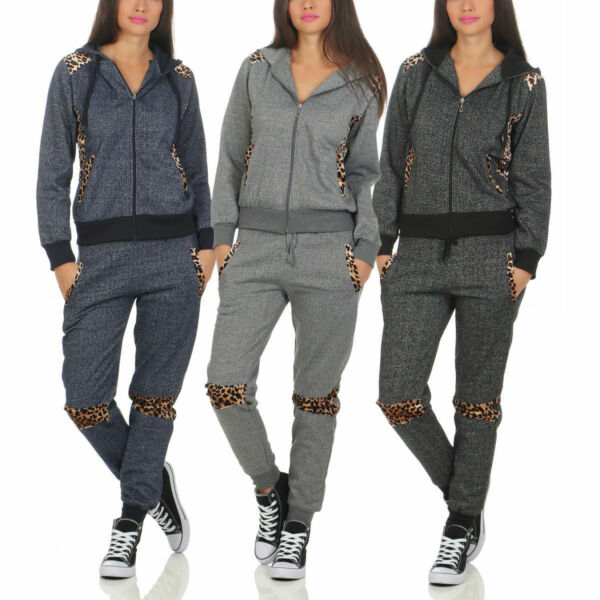 10473 Damen Jogginganzug Jacke Hose Sportanzug Sporthose Fitness Trainingsanzug.