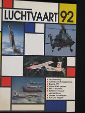 de Alk Book Luchtvaart 92 Bart van der Klaauw (Nederlands) #878