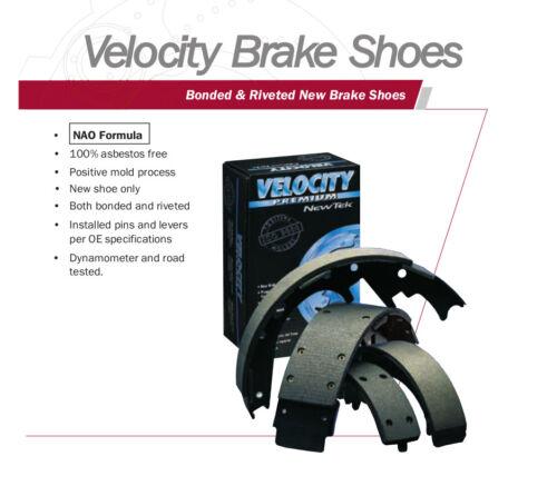 NB553 REAR Bonded Drum Brake Shoe Fits 92-98 Oldsmobile Achieva