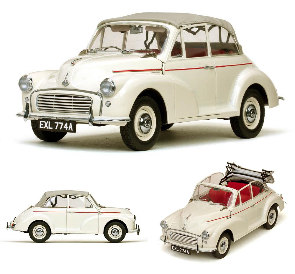 1965 Morris Minor 1000 TOURER Old English bianca Bianco 1 12 Sun Star 4774