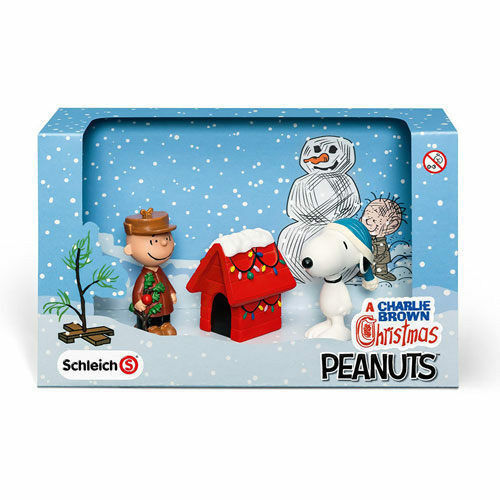 SCHLEICH SNOOPY MERRY CHRISTMAS GIFT SET SH22017