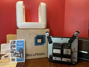 Bell & Howell Autoload Super 8 & Reg 8mm Movie Projector Model 471A Works Great!
