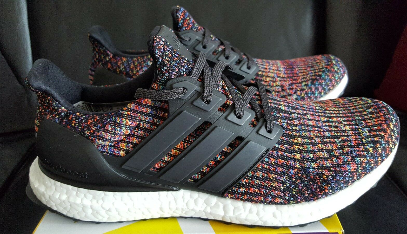 Brand New DS Adidas Ultra Boost 3.0 Multi Color Men's Size 8.5 with receipt