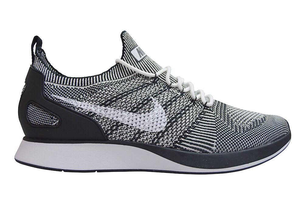 Para Hombre Nike Zoom Mariah Flyknit Racer-Air 918264102-blancoo Negro Oreo