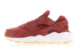 Nike Women's Air Huarache Run SE Shoe Size 6.5 AUTHENTIC Cedar /White 859429-600