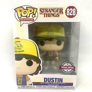 Funko Pop Dustin Roast Beef Tee Special Edition Stranger Things 828