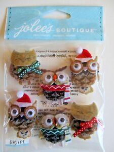 Jolees Mini Repeats Stickers-Owls Actividades creativas