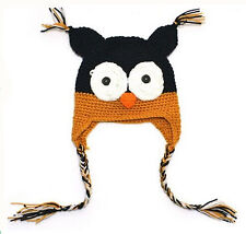 Details about  1PC Hot Soft  Cute Baby Boy/Girl/Toddler Owls Knit Crochet hat 05