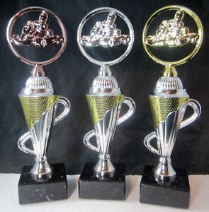 1x-3er-Serie-Motorsport-Pokale-Pokal-26-5cm-hoch-inkl-Gravur-Kart-Motor
