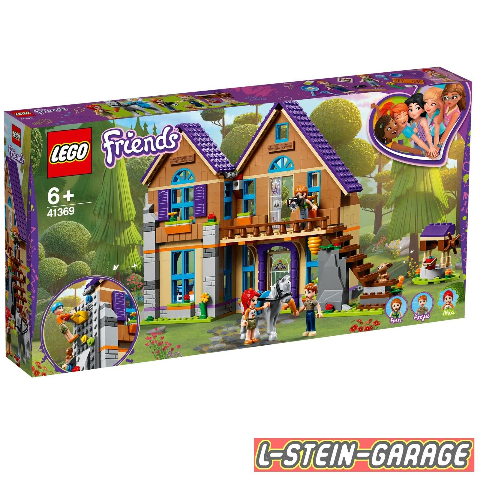 LEGO® Friends 41369 Mias Haus mit Pferd Neu & OVP