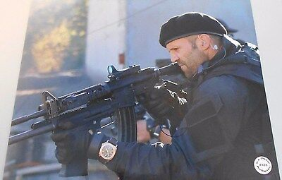"""Music Actor """"transporter Series Movie* Hand Signed 8 X 10 Photo W/coa Without Return Reliable Jason Statham"""