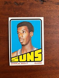 1972-73 Topps Charlie Scott Card #47; Excellent Condition!