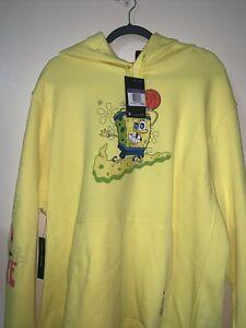 fragmento Brisa Subproducto  Nueva sudadera con capucha suéter Nike Kyrie X Bob Esponja Voltios Amarillo  CQ7184 740 para hombre 3XL | eBay