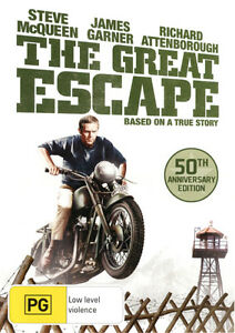 The-Great-Escape-50th-Anniversary-Edition-DVD-NEW-Region-4