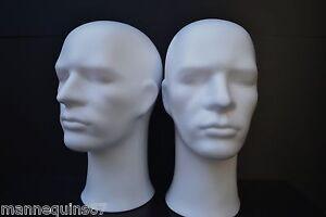 2 Tetes Mannequin Homme Pour Casque Chapeau Ou Perruque Z3lrg6kd-07230208-690854498