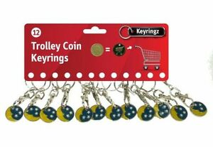 1-12-24-Moon-amp-Stars-Shopping-Trolley-Token-1-Coin-Keyring-Locker-Pound-LL