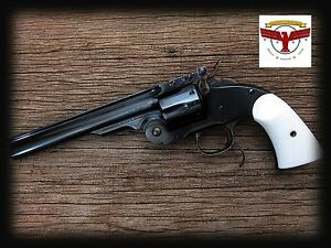 Details about UBERTI SCHOFIELD IVORY GRIPS ~ CIMARRON NAVY ARMS STOEGER  TAYLORS SCOFIELD ^
