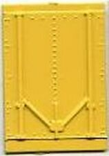 Yellow REEFER CAR DOOR for American Flyer S Gauge Scale Trains