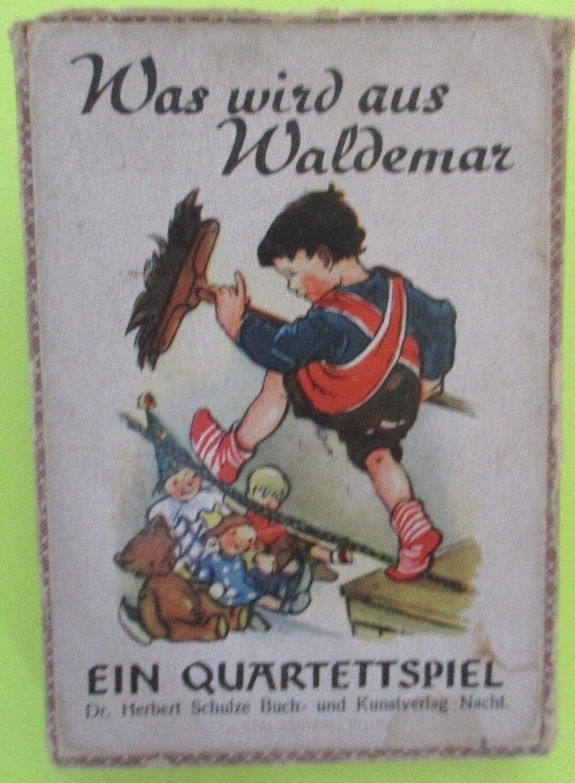 Quartettspiel, Was wird aus Waldemar Ausgabe 1953, DDR,