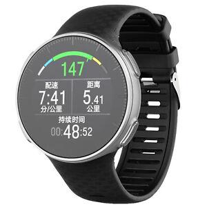 Silikon-Uhrenarmband-Uhrband-Uhrenband-Armband-fuer-Polar-Vantage-V-Smartwatch