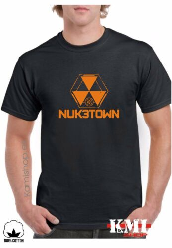 T-Shirt Camiseta Black Ops 3 Call of Duty NUKETOWN