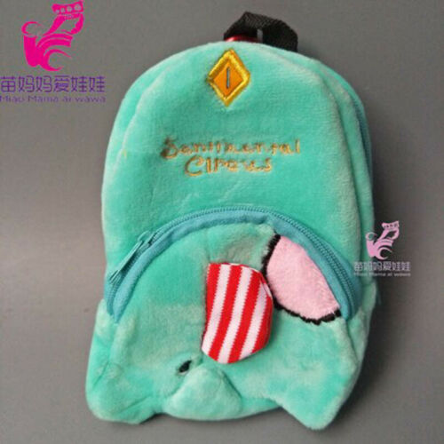 Doll Bag Backpack 43CM Baby Born Doll Cartoon Heroes18 inch Accessories Gift