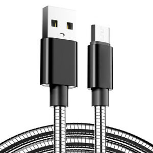 Stainless-Steel-1-M-Micro-USB-presque-Charger-Data-Cable-Lead-for-Samsung-s7-Sony-z5