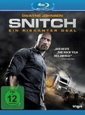 DWAYNE (THE ROCK) JOHNSON - SNITCH-EIN RISKANTER DEAL BLU-RAY NEU