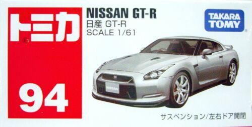 Takara Tomy Tomica Diecast Car 94 BX94 Nissan GT-R Scale 1//61 F0902